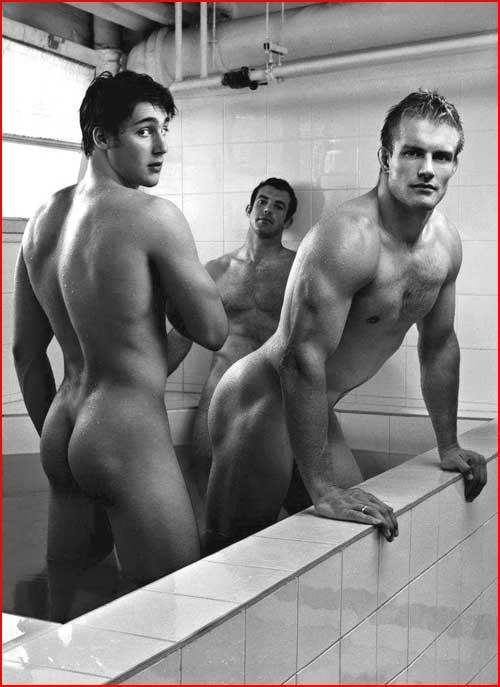 Голые спортсмены  (гей блюсик 5522)