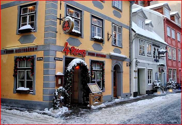 Зимняя Рига  (гей блюсик 5751)
