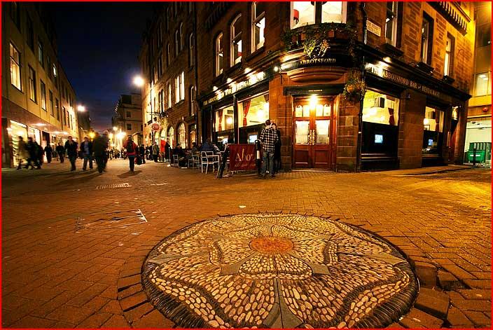Новогодний Эдинбург - столица Шотландии  (гей блюсик 5763)