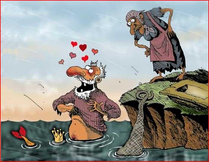 Порно сказка про золотую рыбку