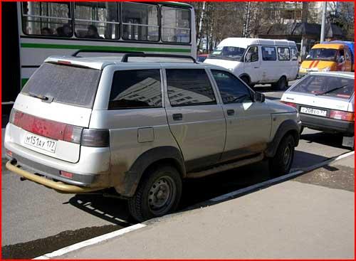 Крутой тюнинг советских авто  (гей блюсик 651)