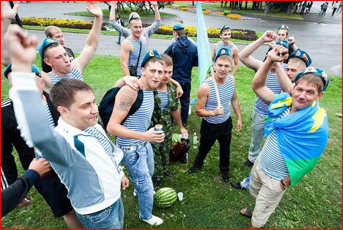 Арбузный день ВДВ  (гей блюсик 6579)