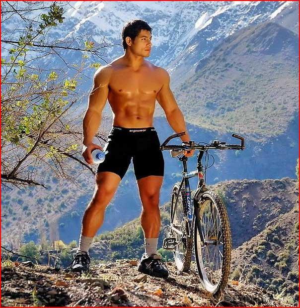 Спортсмен  (гей блюсик 6722)