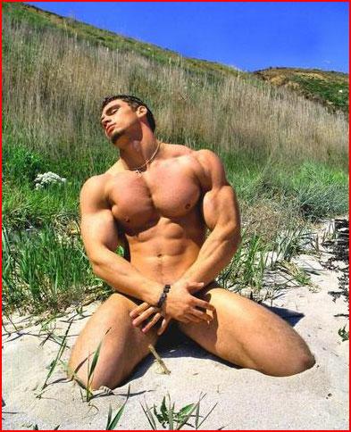 Абсолютно голые мужчины фото