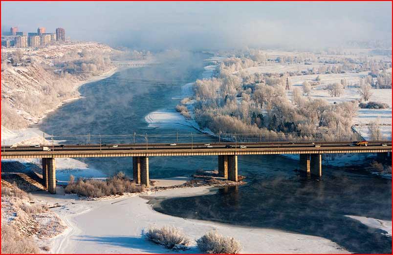 Красноярск зимой  (гей блюсик 7231)