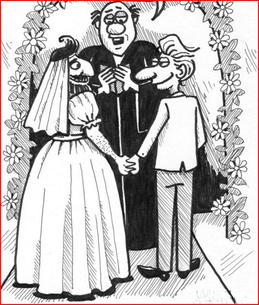 Свадьба  (гей блюсик 7501)