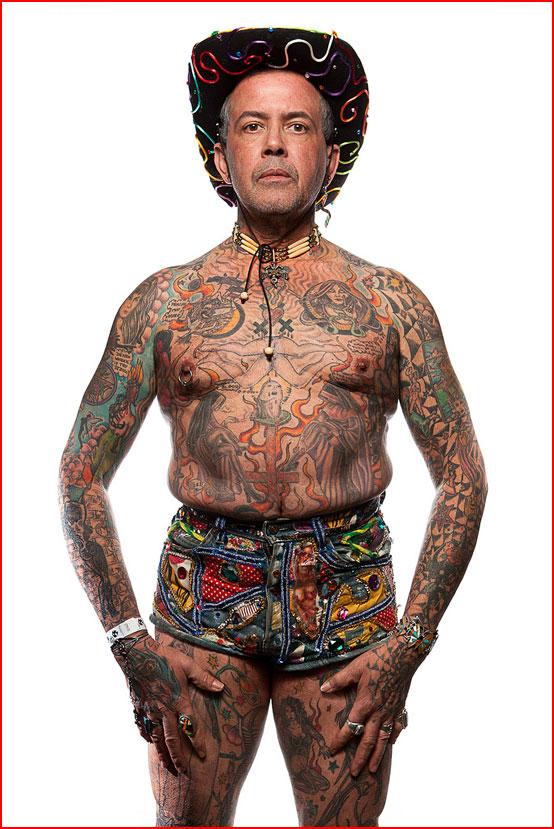 Фотопортреты с фестиваля татуировок в Филадельфии  (гей блюсик 7507)