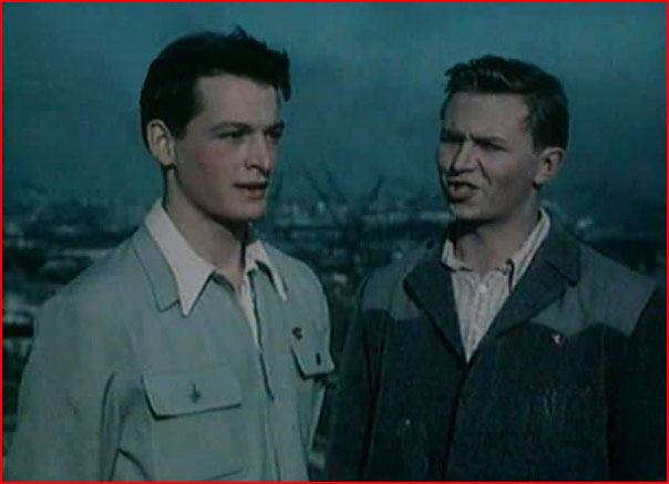 Любовь в старом кино (видео)  (гей блюсик 7521)