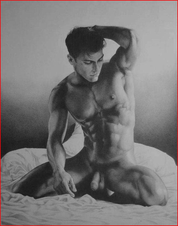 рисунки голых мужчин-юд1