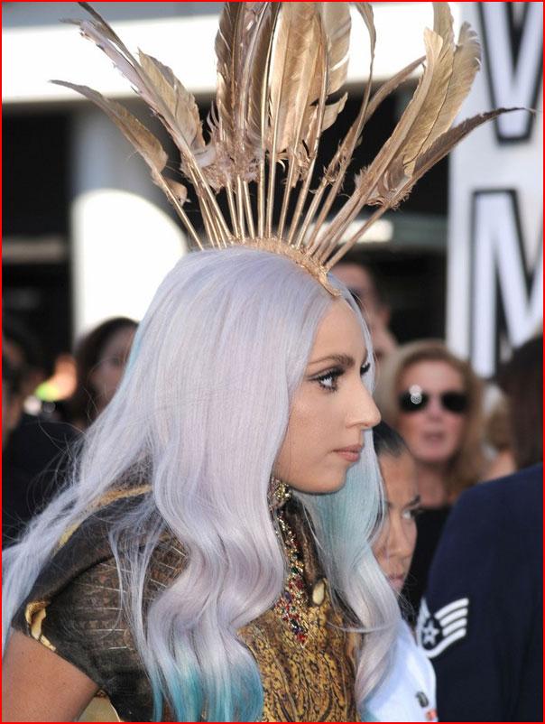Причёски от Леди Гаги  (гей блюсик 7627)