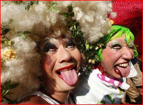 Гей-парад в Японии  (гей блюсик 791)