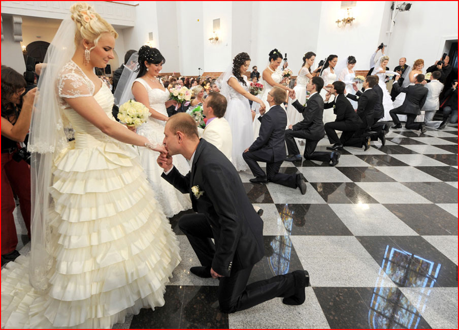 Фото свадьбы в наши времена