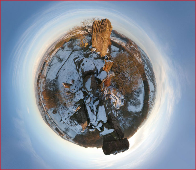 Панорамы похожие на планеты  (гей блюсик 8375)
