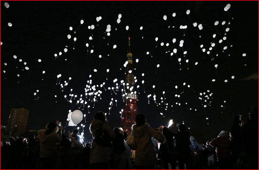 Встреча Нового года 2013 по всему миру  (гей блюсик 8631)