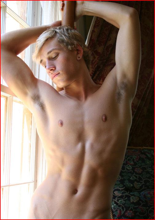 Белокурый красавец  (гей блюсик 8738)