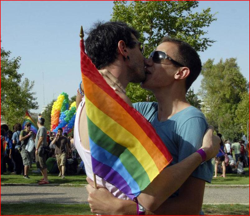 Под радужным флагом  (гей блюсик 8800)