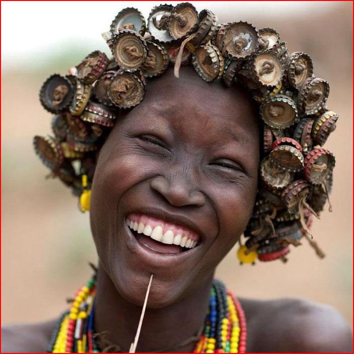 Красота, она и в Африке красота!