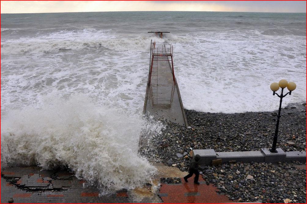 Шторм на Чёрном море  (гей блюсик 8959)