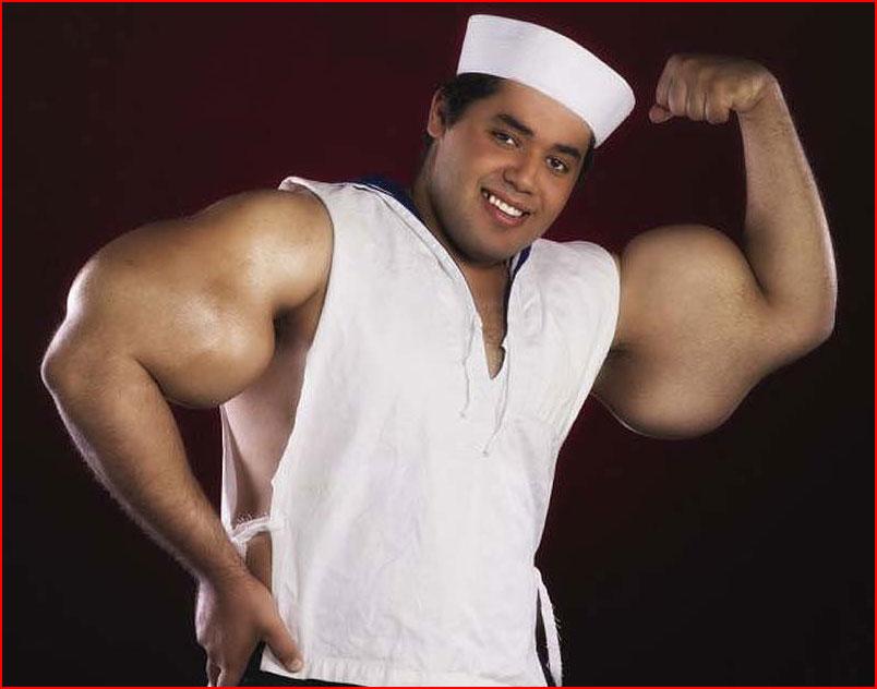 Реальный морячок Папай  (гей блюсик 8991)