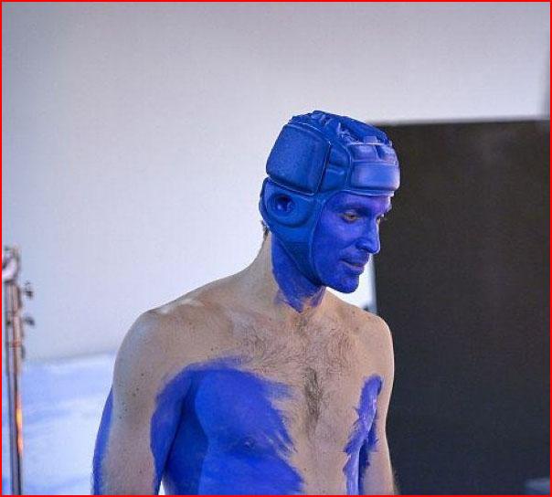 Синие люди