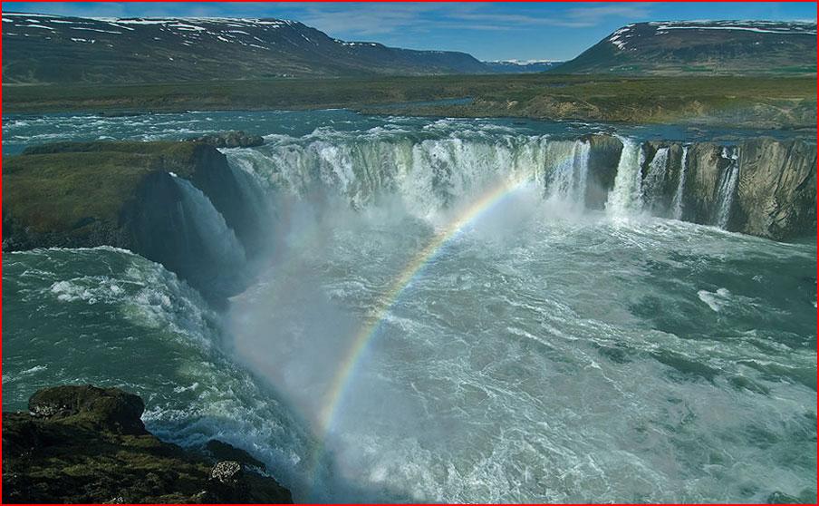 Водопады в Исландии  (гей блюсик 9095)