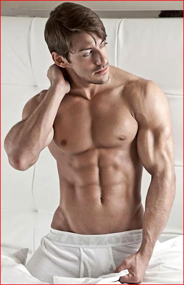Спортивный парень  (гей блюсик 9190)