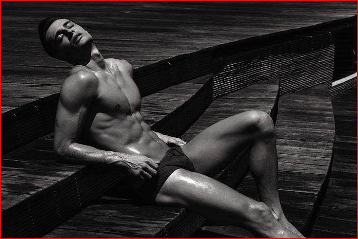 Фотомодель Джонни Маркондес  (гей блюсик 9283)