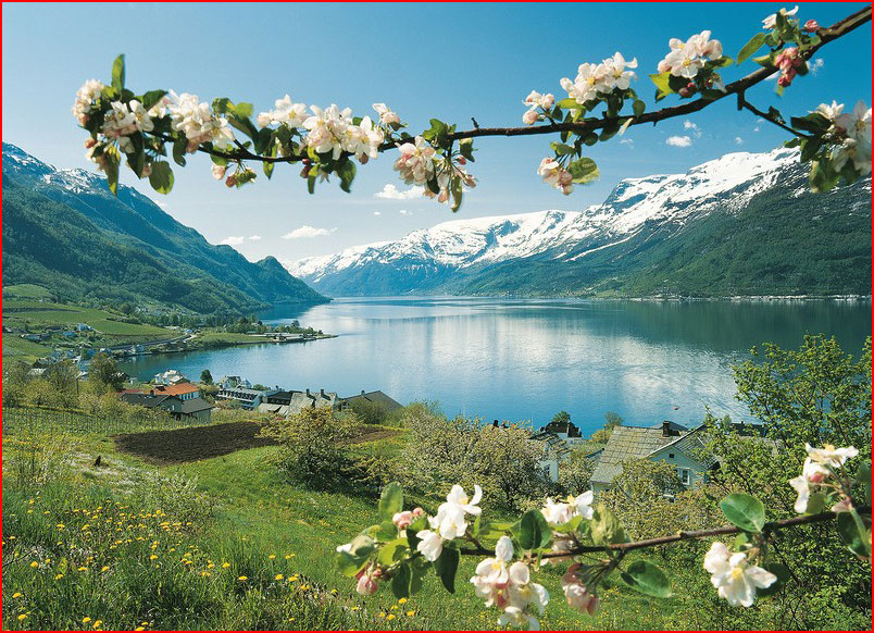 Обои для рабочего стола пейзажи норвегии