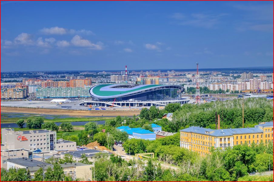 Казань - столица  Всемирной летней Универсиады  (гей блюсик 9371)