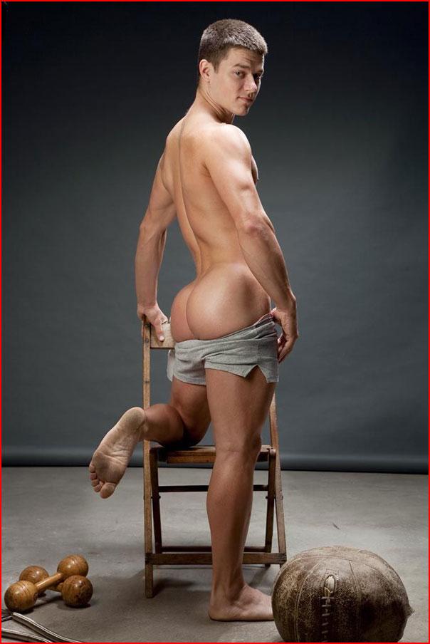 Модель, спортсмен Chip Tanner  (гей блюсик 9378)