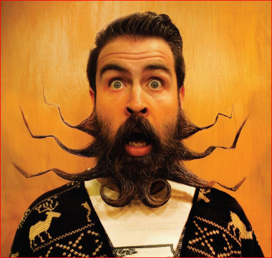 """Мистер """"Невероятная Борода"""""""