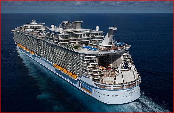 Большие круизные корабли мира  (гей блюсик 9855)