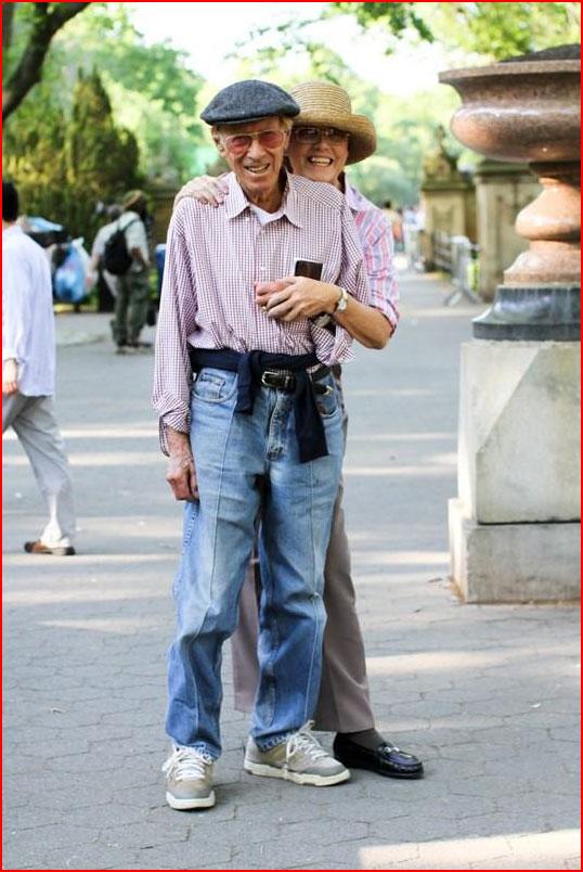 Старики Нью-Йорка  (гей блюсик 9879)