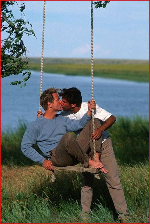 Качели любви  (гей блюсик 9908)