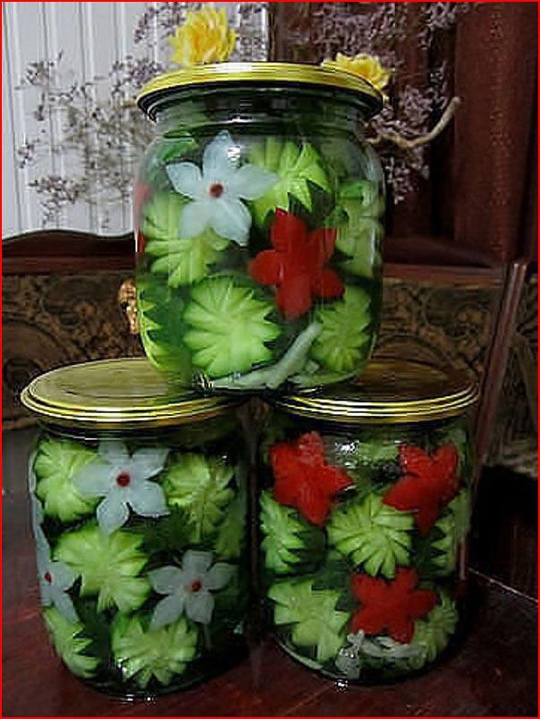 Креативный подход к закатке овощей  (гей блюсик 9943)