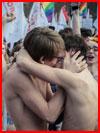Поцелуй для всех  (гей фото, блюсик 10556)