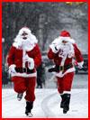 Спешат на праздник Санта-Клаусы  (гей фото, блюсик 11497)