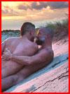 Любовь на песке  (гей фото, блюсик 11606)