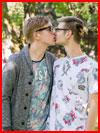 Весенний поцелуй  (гей фото, блюсик 13600)