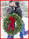Новогодний поцелуй  (гей фото, блюсик 15934)