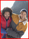 Зима... парни...  (гей фото, блюсик 16059)