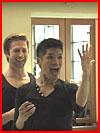 Танец с сюрпризом (видео)  (гей фото, блюсик 16076)