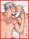 Любовь нарисованная  (гей фото, блюсик 16088)