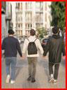 Трое влюблённых  (гей фото, блюсик 16125)