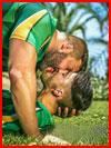 Спортивный поцелуй  (гей фото, блюсик 16524)