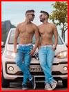 Влюблённые путешественники  (гей фото, блюсик 16545)