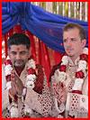Гей-свадьба по-индийски (видео)  (гей фото, блюсик 16552)