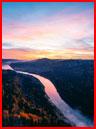 Осенний рассвет на Усть-Манских скалах  (гей фото, блюсик 17171)