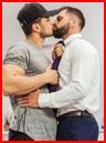 Влюблённые парни  (гей фото, блюсик 17424)
