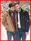 Прогулка под снегом  (гей фото, блюсик 17660)